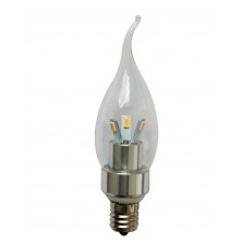 Omailight Dimmable E17 LED Light Bulb Lamp 3w Cool White Bent Tip