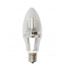 Omailight E17 LED Light Bulb Lamp 6w Cool White Bullet Top