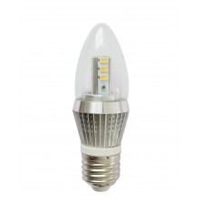Omailight 1 Piece E26 LED Light Bulb Lamp 5w Warm White Bullet Top