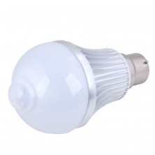 8w Motion Sensor A19 G60 B22 LED Light Bulb Energy Saving Pir LED Lamp, 24 Hours Mode, Warm White,LED Smart Bulb