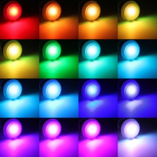 10 Watt Color Changing LED Light Bulb With Remote Control   Powered By 3  Vibrant LEDu0027s And ...