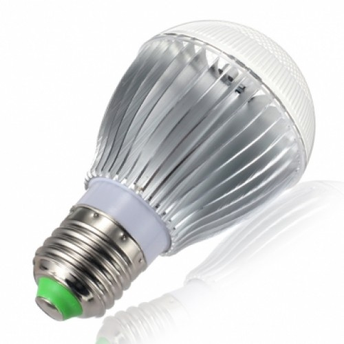 10 watt color changing led light bulb with remote control powered by. Black Bedroom Furniture Sets. Home Design Ideas