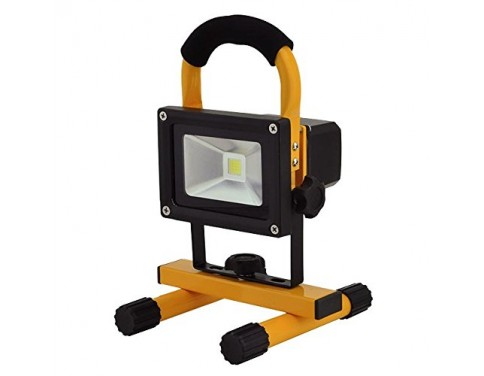 12-Watt Rechargeable Portable LED Work Light with 12V and 120V Charger, 3851WH