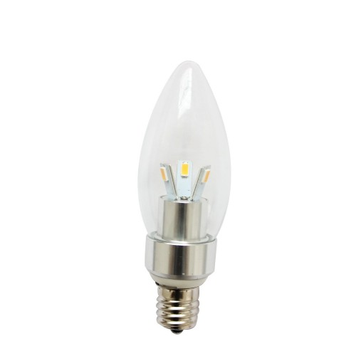 dimmable e17 led light bulb lamp 3w natural white bullet top. Black Bedroom Furniture Sets. Home Design Ideas