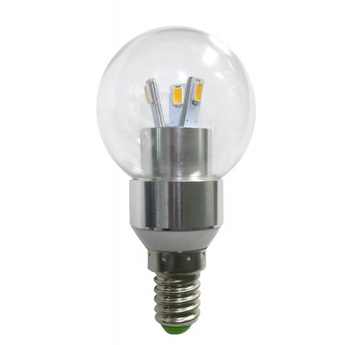 led round bulb with a candelabra base e12 3 pack 230 lumens 3 watts warm white dimmable - E12 Led Bulb