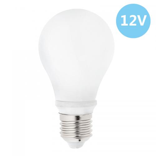 6-Pack Low Voltage 12 Volt 7 Watt LED Light Bulb - E26/E27 Standard Base - Daylight White (Cool White) 6000k 7w Light Bulb – AC DC Compatible- RV, ...