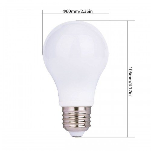 LED A19 12v 12 Volt AC Or DC LED Replacement For Up To 60 Watt Incandescent  Lamp ...
