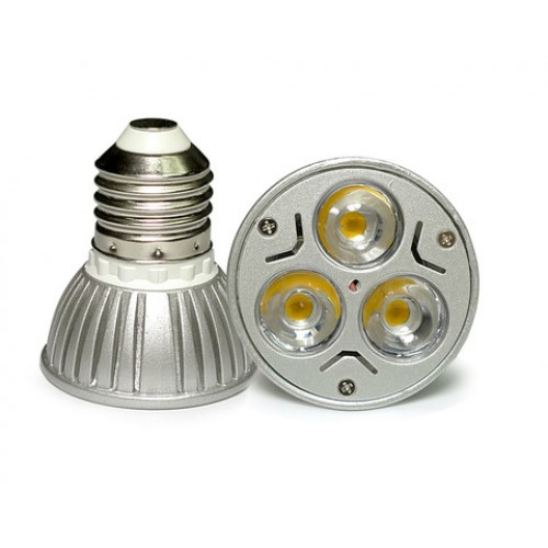 Acdc 12v 12 volt 3w 1w x 3 cluster led light bulb e26 e27 par16 acdc 12v 12 volt 3w 1w x 3 cluster led light bulb e26 e27 par16 screw socket lamp pack of 3 publicscrutiny Images