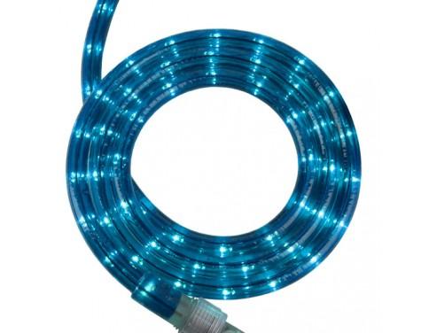 "18' Blue Rope Light, 2 Wire 1/2"", 120 Volt"
