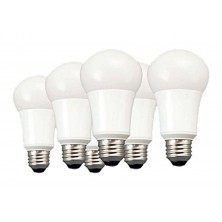 60 Watt Equivalent 6-pack, A19 LED Light Bulbs, Non-Dimmable Soft White,