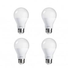 100W Equivalent A19 LED Daylight Light Bulb, 4-Pack