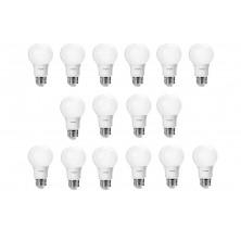 60 watt equivalent soft white A19 LED bulb, 16 pack