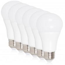 LED A19 - 800 Lumens 60 Watt Equivalent Daylight Cool White (5000K) Light Bulb, 10 Watts (Pack of 6)