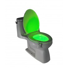 8 color toilet induction lamp hanging type human toilet induction toilet cover lamp