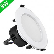 8W 3.5-Inch LED Recessed Lighting, 75W Halogen Bulbs Equivalent, LED Driver Included, 400lm, Warm White, 3000K, 90° Beam Angle, Recessed Ceiling Lights, Recessed Lights, LED Downlight