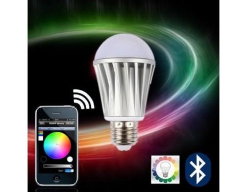 Lagute Ios App Bluetooth Control Rgbw Color Magic Led