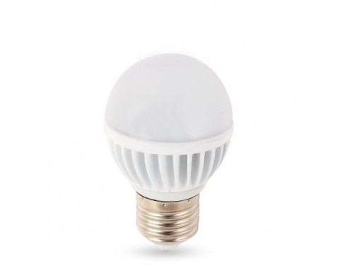 E26 Screw Base 12 Volt AC/DC 5.6 Watt RV Camper Marine Low Voltage LED Light Bulb, Cool White Pure White 5850-6000K