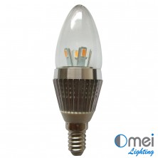 10piece LED E14 candle globe 30w halogen light Bulb CE RoHS Bullet Top