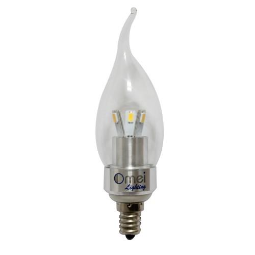 Led 3w E12 Candelabra Base Warm White 2700k Candle Light Bent Tip 500x500 Jpg
