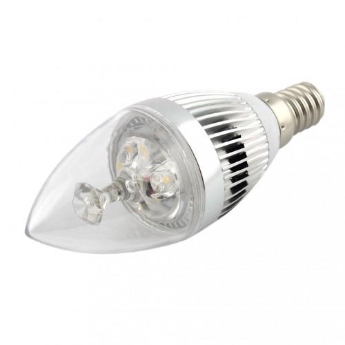 6 pack super energy saving led candle bulb light lamp e14. Black Bedroom Furniture Sets. Home Design Ideas