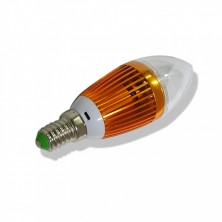 4W E14 AC110-240V Warm White Candle Bulb