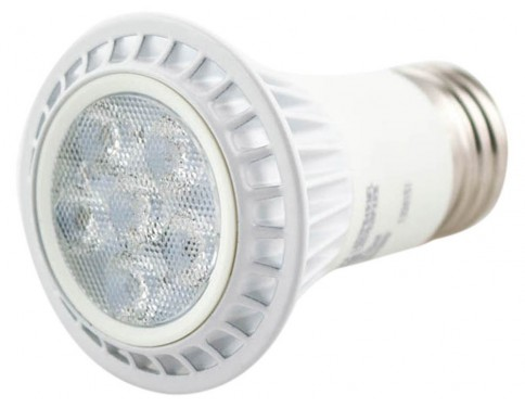 Dimmable LED - 7 Watt - PAR16 - 50W Equal - 3296 Candlepower - 20 Deg. Narrow Flood - 4100K Cool White