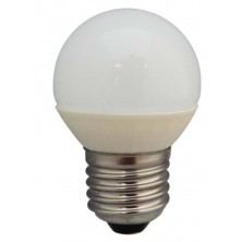 3.3W E27 Epistar LED Bulb Ceramic TRUE Golf Ball Shape,Warm White,Ceramic base gives excellent heat dispersion qualities and long life expectancy,Free Super Saver Delivery