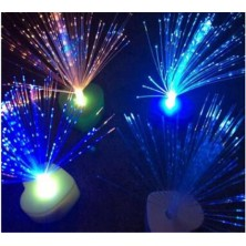 5 pack All over the sky star LED electronic love candle light colorful color change optical fiber