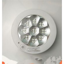 The new LED7W infrared human body induction lamp controlled by sound and light lamps corridor fire emergency lamp