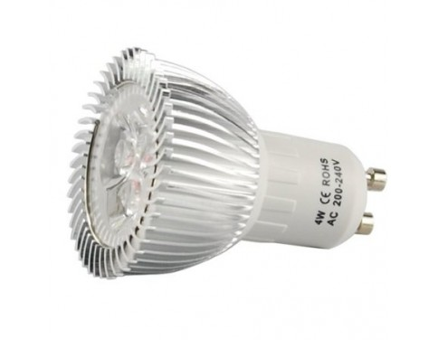 10pcs GU10 4W voltage 100-240V LED Light Bulb Day White 45W Equivalent Energy Saving, Special Offers Available