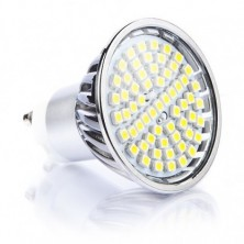 Dimmable 60 SMD Glass Covered - 4.5 Watt GU10 LED Bulb