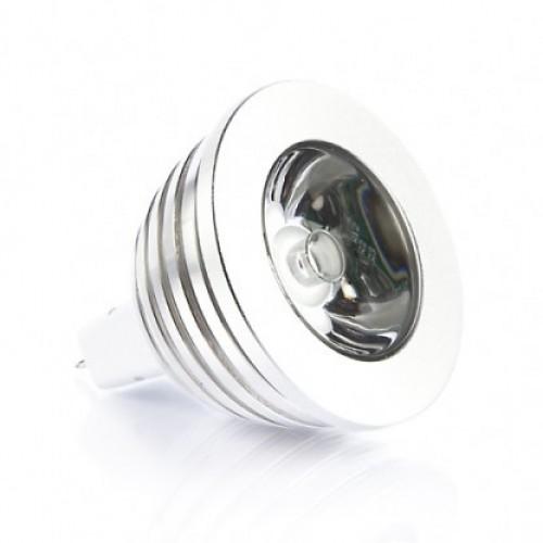 Rgb 3 Watt 12v Mr16 Multicolour Led Bulb With Remote 35w