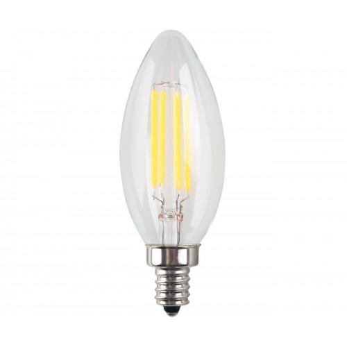 4 Pack 4w Led Filament Candelabra Bulb 40w Incandescent