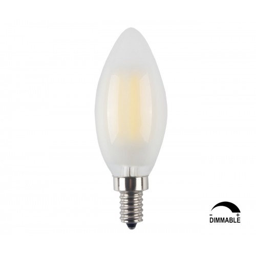 3 pack led e12 6w dimmable filament candle light bulb4000k daylight 3 pack led e12 6w dimmable filament candle light bulb4000k daylight neutral white 600lme12 candelabra base lamp c35 bullet topfrosted glass cover60w aloadofball Gallery