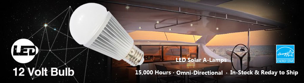 LED Solar A-Lamps