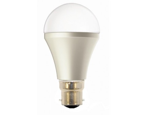 10W B22 LED Light Bulb Pure White 5000k GLS 830 Lumens Very Bright Equivalent to 75W Incandescent Replacement