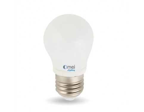 3Watt G14 E26 E27 Bulb LED Light, Equal to 25 Watt Incandescent Bulb, Warm White, 360 degree omidirectional lighting, Pack of 2 Units