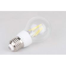 A19 4W LED Filament Light Bulb Soft White 2700K, 40-watt Equivalent