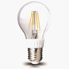 A19 LED Filament Bulb Nostalgic Edison Style 4W to Replace 40W Incandescent Bulb 360 Degree View Angle