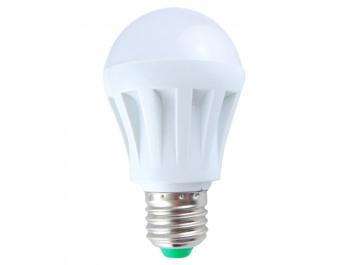 12 pcs Anti-glare 100V-120V 5W 3528 SMD Warm White Standard E27 Finish Filished Housing LED Lamp Bulbs Coffee Shop Office Supply Tea Room