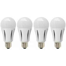 G7 Power Lumen 9.5-watt 3000K E26 Base A19 LED Light Bulb, 4-Pack