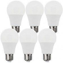 (6PACK) LED Light Bulbs,6W A19 E26 Warm White (Soft White) 2700k LED Lamps,40Watt Incandescent Bulbs Replacement,500 Lumens,240 Degree Beam Angle LED Light for Home Lighting