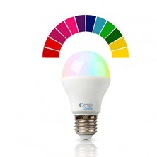 Color Changing Dimmable RGB LED Light Bulb E27 6W(50W) Only One Bulb