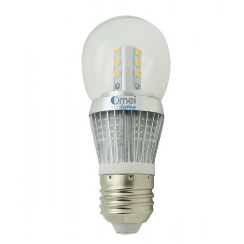 led bulb e26 400 lumen led edison light bulb 5w natural daylight white 4000k globe lamp