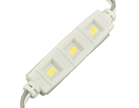 12 Volt 5-Feet String of 10 Water-Resistant LED Modules Each with 3xSMD5630
