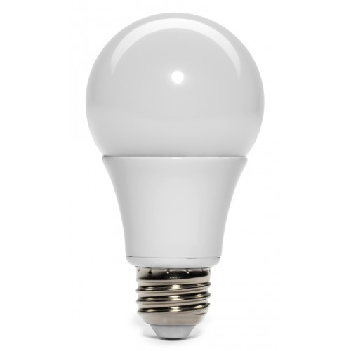Sierra LED 6 Watt (40W) 480 Lumen A19 Standard Light Bulb, Non Dimmable  2700K, Warm White Light