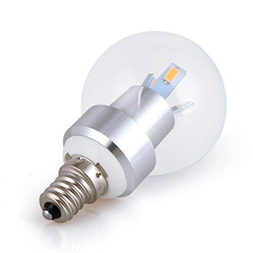 2pack 3w e12 ac 85240v 2850k warm white led bulbs 30 watt replacement led halogen light