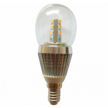 Dimmable LED Light 7 Watt E14 Base LED Globe Bulb White Chandelier Light Bulbs