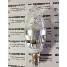E14 LED Candle Light AC85-265v 3w Small Screw Base LED Chandelier Light Bulbs