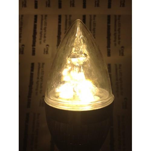 E14 LED Candle Light AC85-265v 3w Small Screw Base LED Chandelier Light  Bulbs